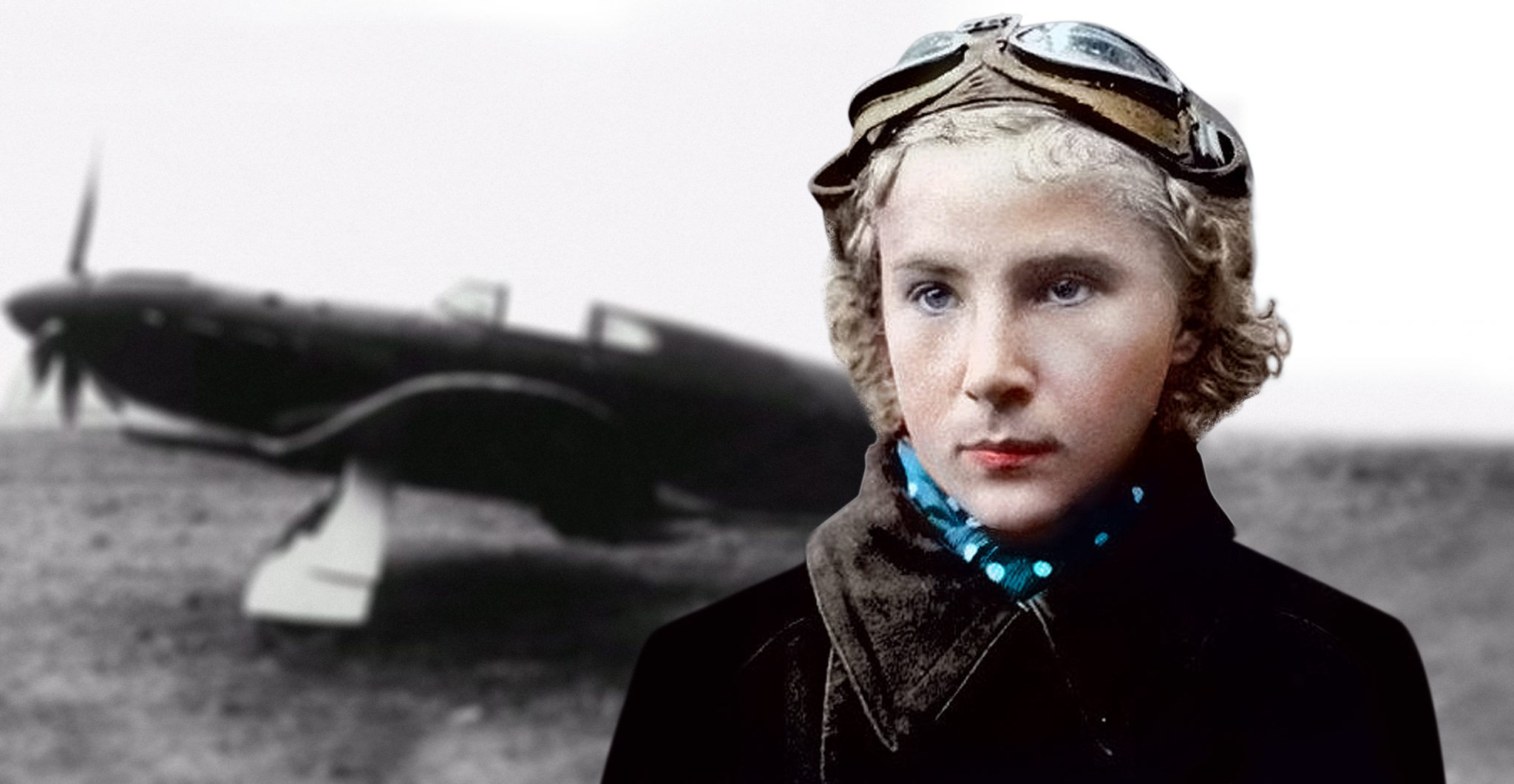 The First Female Fighter Ace!