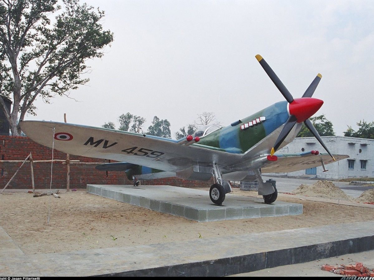 anil chopra, air power asia, Spitfire MV 459, Ambala