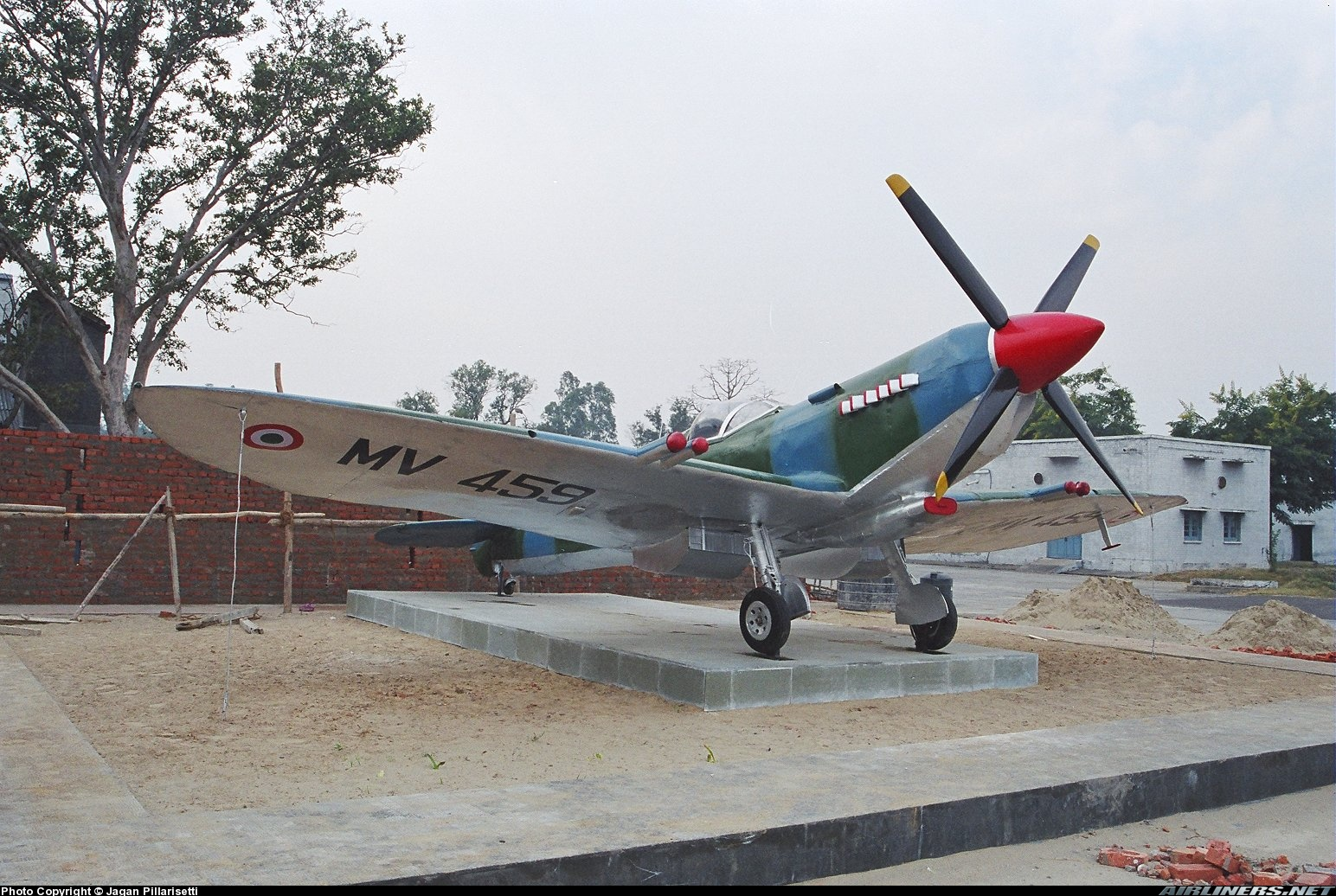 anil chopra, air power asia, Spitfire MV 459, Ambala