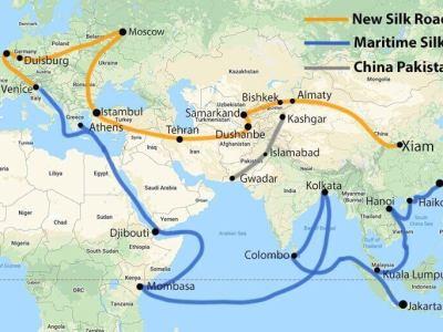 anil chopra, air power asia, Belt and Road Initiative