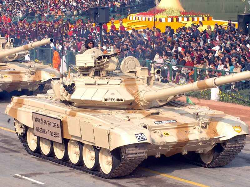 anil chopra, air power asia, T-90 Bhishma Tank
